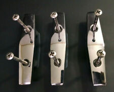 New listing Lot of 3 Asi Imperial Vr175 Boat Marine Hook Anchor Cleat Tie-Down Lugs, Chrome