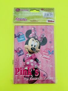 Disney Minnie Mouse Bow-tique Journal *Pink's My Favorite Color*