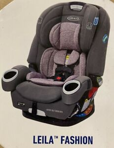 Graco Baby 4Ever DLX SnugLock 4-in-1 Harness Booster Car Seat Child Safety Leila