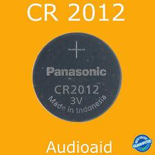 1pc Panasonic CR2012 3V Battery (CR2012, CR 2012, ECR2012) Lithium Battery