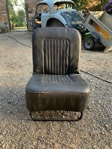 Morris Minor Folding Seat Black