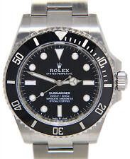 Rolex Submariner Men's Black Watch - 124060