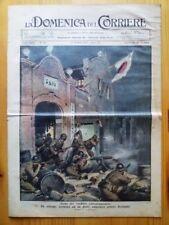 La Domenica del Corriere 17 ottobre 1937 Shangai-Adria-Piove di Sacco-Galvani
