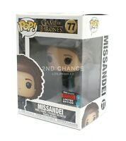 Funko Pop Game of Thrones Missandei 2019 NYCC Fall Exclusive Vinyl Figure