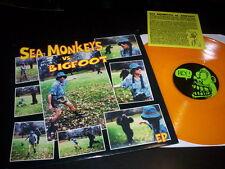 "Sea Monkeys ""Sea Monkeys Vs. Bigfoot"" V.M.L. REC USA 1997 - INSERT - COLORED V."