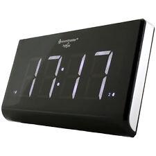 SOUNDMASTER UR8400, Uhrenradio, UKW, Schwarz