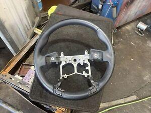 Toyota Genuine Landcruiser Prado 150 Steering Wheel Leather Black