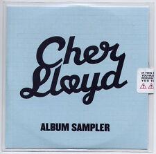 CHER LLOYD Album Sampler UK 5-trk numbered + sealed promo test CD Busta Rhymes