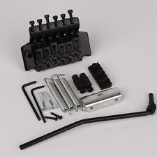 Black Floyd Rose Lic Ibanez Edge Style Double Tremolo System Bridge