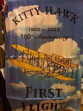 First Flight, Wright Brothers' Airplane NC North Carolina  Coast HOUSE Flag