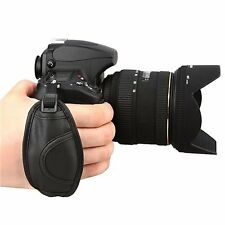 Soft Leather Camera Hand Grip Strap Compatible with Nikon D5000 D5100 D7000 D90