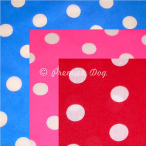 16 x Classic Polka Dot Dog Bandanas / Scarf - 3 Sizes To Choose From!