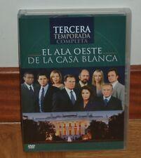 EL ALA OESTE DE LA CASA BLANCA - 3º TEMPORADA COMPLETA - NUEVO - 6 DVD - SERIES