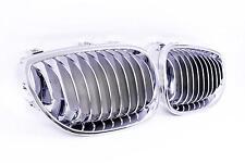 griglia radiatore a sbarre BMW 5er E60 M5 Look - anteriore completamente cromata