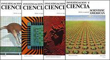 Revista Investigacion y Ciencia - Números 1 a 16 ( oct de 1976 a ene de 1978 )