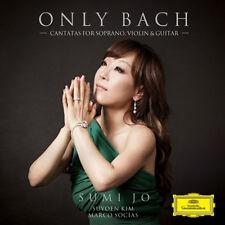 SUMI JO Only Bach SEALED KOREA NEW