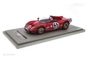 Alfa Romeo 33.2 Periscopio 12h Sebring 1967 De Adamich/Zeccoli Tecnomodel 1:18