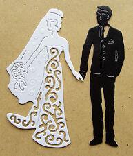 5 DIE - CUTS  WEDDING COUPLE -   CO62