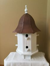 Good Directions Dovecote Manor Octagon Birdhouse with Copper Roof - Bh204Wwht