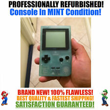 *NEW GLASS SCREEN* Nintendo Game Boy Pocket GBP Glow in the Dark System MINT NEW