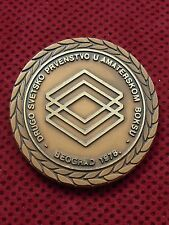 BRONZE PLAQUE AT THE SECOND WORLD CHAMPIONSHIP IN AMATEUR BOXING BELGRADE 1978.