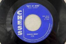 Chuck Berry - Rocker 45 RPM - That's My Desire/Anthony Boy K7