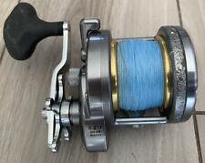 Shimano Torium 16 Conventional Big Game Fishing Reel w/ Braid Line