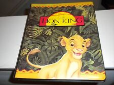 Walt Disney's The Lion King Skybox Collectors Cards Set With Binder Lot