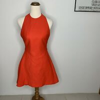 Cameo The Label Dress Size Small S Halter Neck Red Fit And Flare Cocktail New