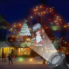 Moving LED Lights Laser Projector Landscape Lamp Christmas Decoration Outdoor AU