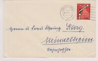 BUND, Mi. 219 EF, Augsburg, 4.5.56
