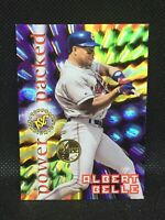 ALBERT BELLE #PP1 Power Packed 1996 Stadium Club Members Only Star MINT