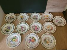 More details for 12 royal worcester the horticultural the 12 months collectable plate, boxed