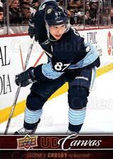 2012-13 Upper Deck Canvas #67 Sidney Crosby
