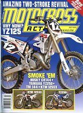 Motocross Action Magazine July 2013 Husky CR144, Yamaha YZ240, TM 144