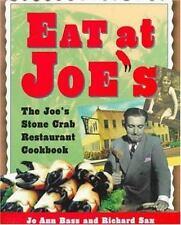 Eat At Joe's: The Joe's Stone Crab Restaurant Cookbook-ExLibrary