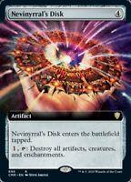 Nevinyrral's Disk - X1 FOIL Extended Art - Commander Legends - R696-MTG- 4RCards