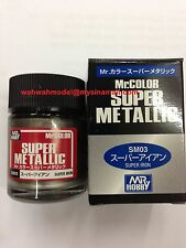 MR HOBBY GUNZE SANGYO COLOR SUPER METALLIC SM03 IRON