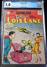 DC SHOWCASE (1957) #10 CGC 1.0 - 2nd solo LOIS LANE! Superman! Nice appearance!