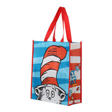 Dr. Seuss Large Recycled Shopping Tote, The Cat In the Hat Reusable Children Bag