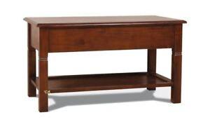 Mahogany Coffee Table with ground shelf - CD 005