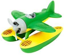 Green Toys Seaplane - Green - 100% Recycled Toy - No BPA - Diswasher Safe