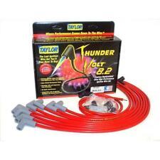 Taylor Spark Plug Wire Set 86230; ThunderVolt 8.2mm Red 90° for Chevy V8