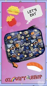 Smiggle All Star Champs Square Lunch Box - Brand New