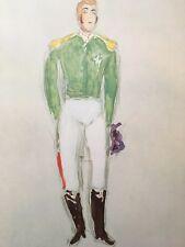 Marc Chagall,The Ballet,The Coachman Offset Lithograph 1969, Mourlot, Paris