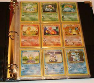 Pokemon Card 1st COMPLETE SET of ORIGINAL 151/150 (Base, Jungle, and Fossil Set)
