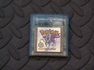 Pokemon Authentic French Version Cristal  Game Boy Color  - With New SaveBattery