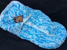 4 colori disponibili a mano a maglia uncinetto Baby Cocoon e Cappello 0-6 mesi