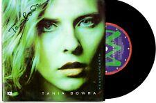 "TANIA BOWRA - HEAVEN AND EARTH / ALL TRUE - 7"" 45 VINYL RECORD PIC SLV 1989"