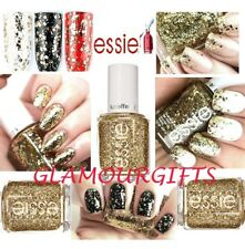 Essie Nail Polish Rock at the Top 335 Platinum gold Glitter